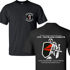 VFA154 BLACK KNIGHTS STRIKE FIGHTER SQUADRON UNITED STATES NAVY T-SHIRTS S-3XL