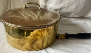 Vintage Brass Cooking Pot Handle Detached