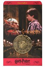 Harry Potter Unum Galleon gold coin wizard currency money NOS, NEW, MINT & RARE!