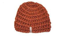 Krochet Kids Crochet Betty Beanie Copper Ski Winter Fall Hat Cap Hand Made
