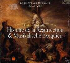 SCHUTZ  histoire de la résurrection LA CHAPELLE RHÉNANE - B. HALLER / 2 CDS