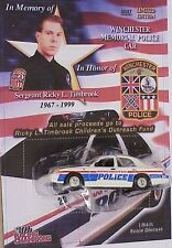 Racing Champions Memorial Winchester Virginia Police Officer in line of duty