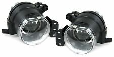 CLEAR PROJECTOR FOG LIGHTS FOR BMW E90 & E91 M3 M SPORT BUMPER MODEL 4 & 5 DOOR