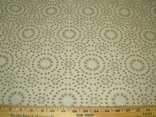 "~5 YDS~""MODERN RETRO DOTS RINGS""~WOVEN AWSOME UPHOLSTERY FABRIC FOR LESS~"