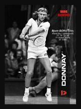 Vintage Donnay Allwood Bjorn Borg Tennis Light 2 Rare Case International Team