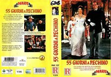 55 giorni a Pechino (1963) VHS  Ricordi Parade - Heston Gardner