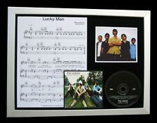 THE VERVE Lucky Man LTD GALLERY QUALITY MUSIC CD FRAMED DISPLAY+FAST GLOBAL SHIP
