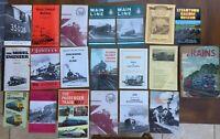 18 + Railway Books / Steam Preservation Booklets / Maps / Ladybird books 1946 +