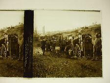 plaque photo guerre 14-18 curlu somme cuisiniers soldats poilus WWI