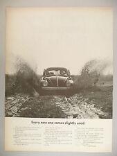 Volkswagen VW Bug Beetle PRINT AD - 1968