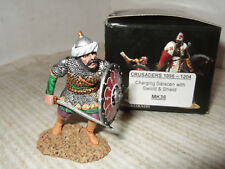 King and Country MK36 Charging Saracen with Sword and Shield in 1:30 Scale.