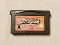 Game Boy Advance Tony Hawk Pro Skater 4
