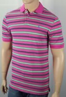 Polo Golf Ralph Lauren Pink Navy Pima Cotton Blue Pony Shirt NWT