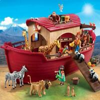 PLAYMOBIL Noahs Ark With Floating Vessel And Animals Kids Toys 4 years And Up