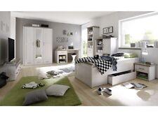 Jugendzimmer Luca 7-tlg Kinderzimmer Komplettset Bett 90x200 Schrank 110115