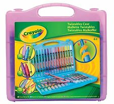 Crayola Twistables Case - 32 Pack, Case Colour in Purple, Blue or Yellow