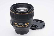 Nikon Nikkor AF-S 85mm f1.4 G N SWM IF Lens 85/1.4 AFS                      #183