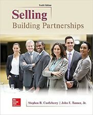 Selling: Building Partnerships 10th Int'l Ed.US Delivery 3-4 bus days/Insurance
