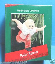 "Hallmark ""Polar Bowler"" Ornament 1988"