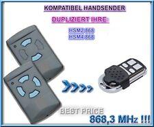 Hörmann HSM2, HSM4 kompatibel Handsender 868,3MHz, Klone, NOT MADE BY Hörmann!