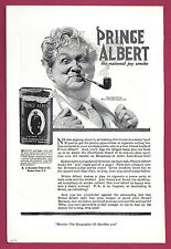 "1919 Tobacciana Ad ~ PRINCE ALBERT Tobacco in a Can ~ ""The National Joy Smoke"""