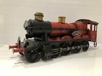 Lesser & Pavey Red Locomotive Metal Tin Steam Train Model Vintage Transport Gift