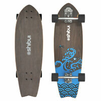"SURFSKATE COMPLETE  SHIBUI  SWALLOWTAIL 31"" WITH YOW S5 SURFSKATE SYSTEM"