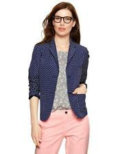 Gap women's polka dot Modern Blazer - UK 6 US 2 - navy blue white work formal