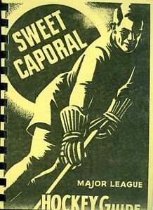 1940-41 Sweet Caporal Major League Hockey Guide 2nd Edition Reproduction
