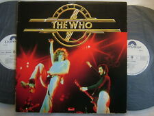 PROMO WHITE LABEL / THE WHO BEST OF / 2LP