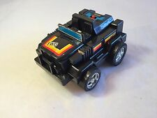 Straco Battery-Operated ROBOT JEEP 1985 vintage motorized vehicle transformers
