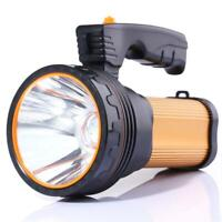 ALFLASH Torcia LED per torcia ricaricabile ad alta potenza 7000 Lumens Oro