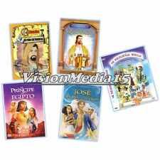 5 Pk Mi Pequena Biblia DVD NEW Principe De Egipto Quovadis Jose SHIPS NOW !