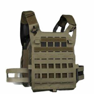 SPC/JPC Tactical Vest High Edition Molle System Matte Cordura Fabric Lig
