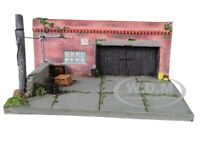 """""""MY OLD GARAGE"""" RESIN DIORAMA FOR 1/64 SCALE MODELS BY AMERICAN DIORAMA 38430"""