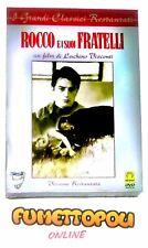 ROCCO E I SUOI FRATELLI DVD Medusa ed. Slipcase Fuori Catalogo L.VISCONTI NUOVO