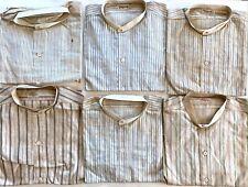 Vintage Edwardian 1910s Boys NOS Pullover Shirts Lot Neck Size 13 & 13-1/2