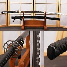 Samurai Japanese Katana Swords Handmade High Carbon Steel Full Tang Blade Sharp