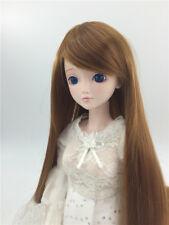 "New 1/3 Girl BJD SD Doll Wig Dollfie 8-9"" DZ DOD LUTS Bjd Doll Wig Middle Wig"