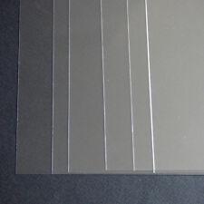 1 x A3 Stencil fogli, TRASPARENTE PVC 220 Micron PLASTICA PELLICOLA, riutilizzabili