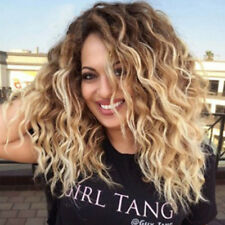 Blonde Kinky Curly Wig Afro American Soft&Healthy Synthetic Wigs Fashion Lady DP