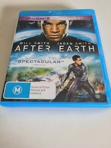 After Earth (Blu-ray, 2013) *Like New Condition