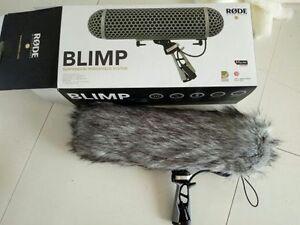 DeadWombat Windshield Artificial Fur Windscreen for Rode Blimp Pro CoverShield