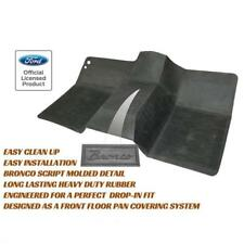 Ford Bronco Front Floor Mat 1966-1977 - An Official Ford Licensed Product!
