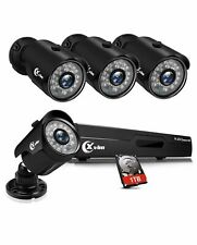 8CH 1080P security camera system 1TB Hard Drive With Night Vision