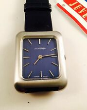 Genuine Leather Strap Rectangle Swiss Made Wristwatches