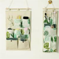 3/7 Pockets Wall Door Hanging Storage Bag Organizer Wardrobe Closet