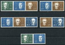 Bund Block 2 alle Zusammendrucke postfrisch BRD 315 - 319 Zd Beethoven MNH