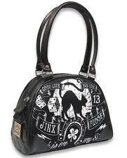 Liquorbrand Jinx Proof Bowler Bag Gothic Rockabilly Handbag
