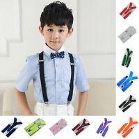 Unisex Boys Girls Baby Toddler Children Adjustable Washable Braces Suspenders